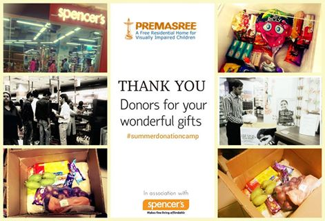 Donation Campaign at Retail Stores